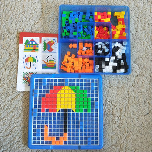 Geometry Pattern play set 490pcs
