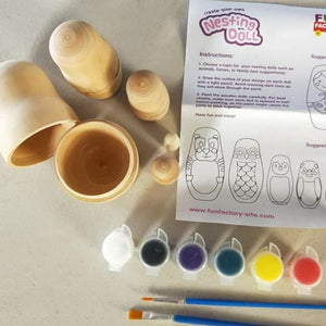 Paint your own Nesting doll set
