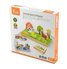 Learning space and distance viga toys