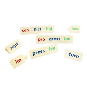 Tri Block word building learning tool