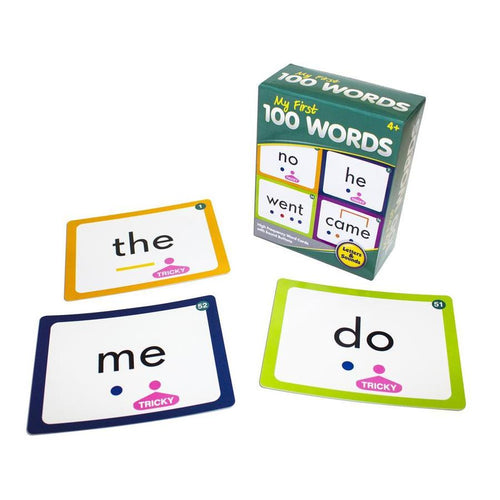 My first 100 word cards