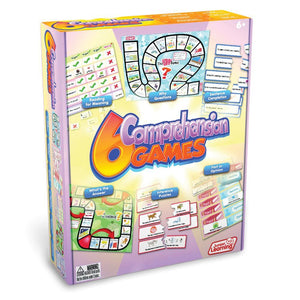 Comprehension games - box of 6 primary learning games