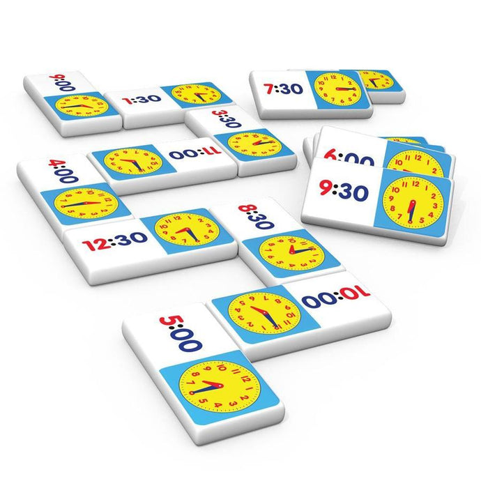 Time Dominoes learning game