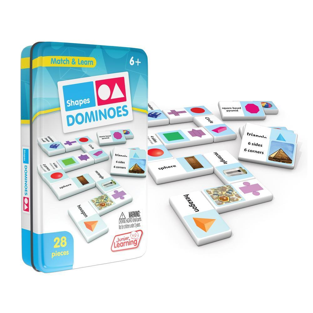 Shape learning Domino game set - Primary shapes