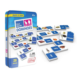 First word domino game - Educational learning game