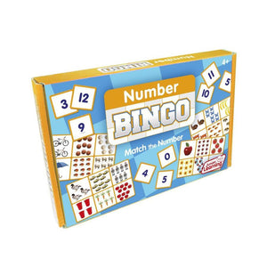 Number Bingo is a Number and counting game.
