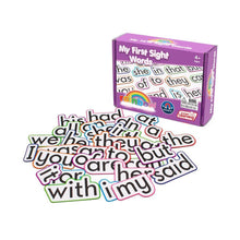 Magnetic sight words great way to help teach preschool and primary school children their sight words