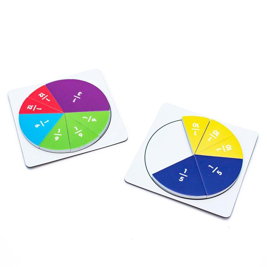 Fraction Segments are magnetic fraction segments to help teach fractions primary school resource