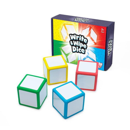 Write & Wipe Dice are re writable dice