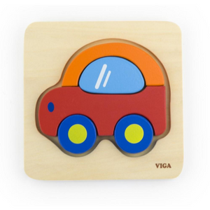 kids car block puzzle