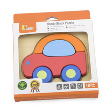 Mini block Car puzzle