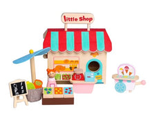 Wooden Grocery Store - Little shop playset