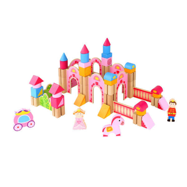 Princess castle block set - tooky toys