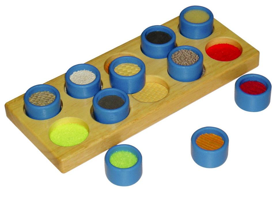 Touch and Match - texture and sensory puzzle