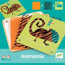 Animomix - Djeco mix and match animal cards