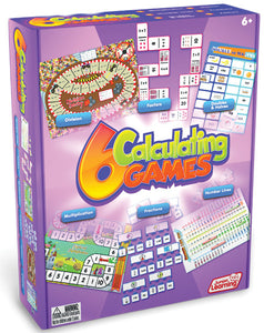 6 Calculating math games