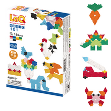 LaQ Basic 101 - 185 pieces 2D building