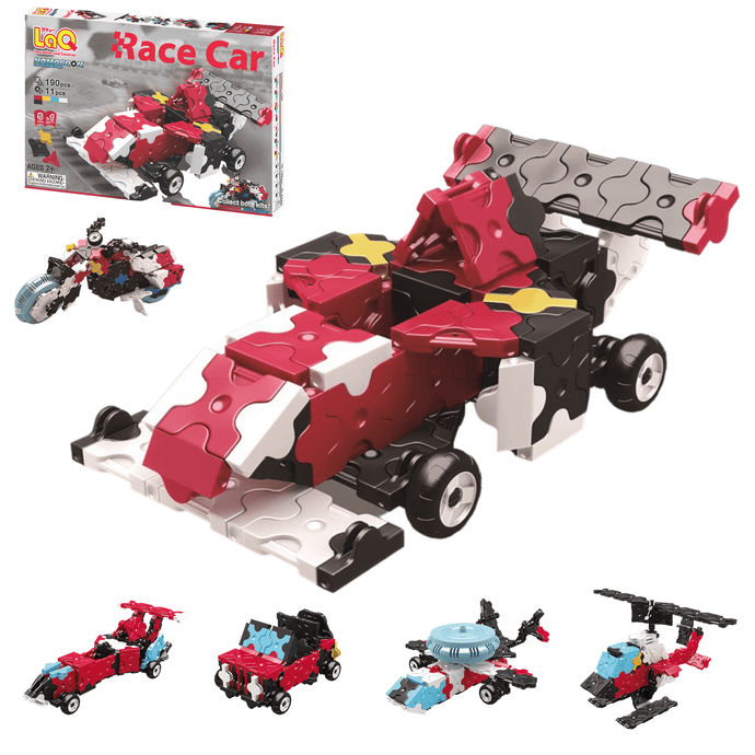LaQ Constructor Race car - 5 in 1