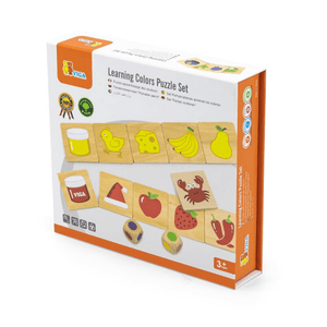 Learning Colours wooden puzzle