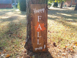 Happy Fall Yall! Porch Sign