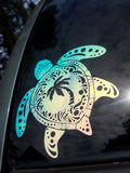 Holographic Sea Turtle Decal