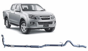 Redback 4x4 Extreme Duty Exhaust to suit Isuzu D-MAX (06/2012 - 01/2017)