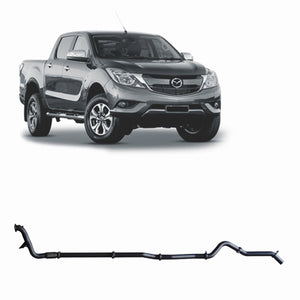 Redback 4x4 Extreme Duty Exhaust to suit Mazda BT-50 (01/2016 - on)