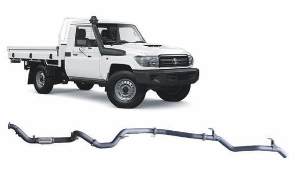 Redback 4x4 Extreme Duty Exhaust to suit Toyota Landcruiser (03/2007 - on)