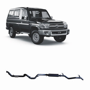 Redback 4x4 Extreme Duty Exhaust to suit Toyota Landcruiser (09/2016 - on)