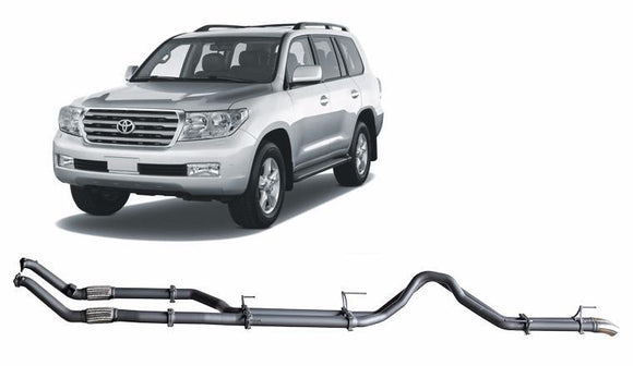 Redback 4x4 Extreme Duty Exhaust to suit Toyota Landcruiser (11/2007 - 09/2015)