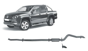 Redback 4x4 Extreme Duty Exhaust to suit Volkswagen Amarok (09/2010 - on)