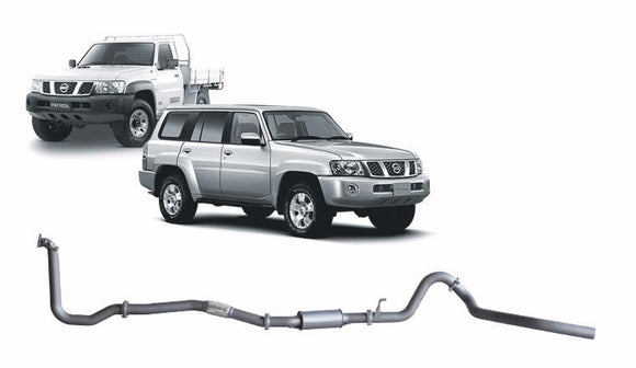 Redback Extreme Duty 4X4 Performance Exhaust to suit Nissan Patrol (05/2000 - 10/2017)