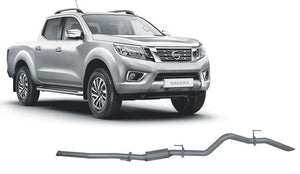 Redback 4x4 Extreme Duty Exhaust to suit Nissan Navara (01/2015 - on)