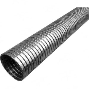 "Exhaust Tube - Inside Diamtre 5"" Inch (127mm), 1 Metres, Stainless Steel"
