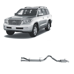 Redback 4x4 Extreme Duty Exhaust to suit Toyota Landcruiser (01/2007 - on)