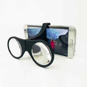 [Weeview] SID VR Lite Viewer - Folding Clip On Virtual Reality Glasses for Smartphones