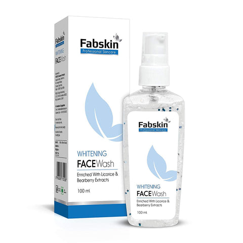 Fabskin Whitening Facewash 100ml - Beespot.in