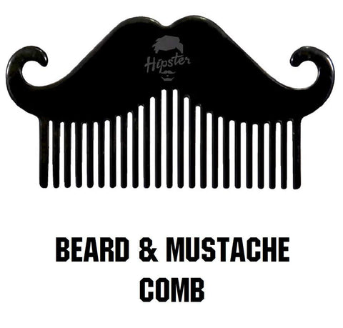 Hipster Beard & Mustache Pocket Comb - Beespot.in