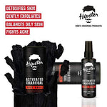 Hipster Activated Charcoal Face Wash 100ml - Beespot.in