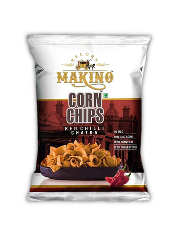 Makino Corn Chips 60 gm (Pack of 6) - Beespot.in