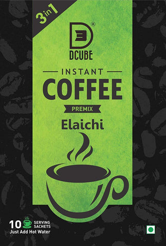 Dcube Instant Coffee Premix 10 sachets (Pack of 2) - Beespot.in