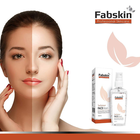 Fabskin Tan Defeat Facewash 100ml - Beespot.in