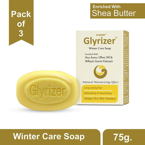 Elegant Glyrizer Winter Care Soap 75g - Beespot.in