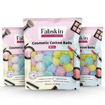 Fabskin Cosmetic Cotton Balls 50 Pcs (Pack of 3)
