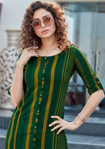 MITTOO MOHINI WOMEN'S KURTI WITH PANT 4034