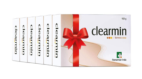 Clearmin Fairness Soap (Pack of 6, 100 g) - Beespot.in