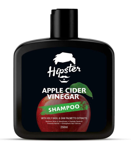 Hipster Apple Cider Vinegar Shampoo 250ml - Beespot.in