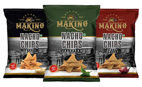 Makino Nacho Chips 150g (Pack of3) - Beespot.in
