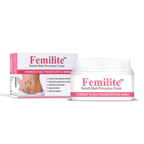 Femilite Strech Mark Cream Prevention Cream 50gm - Beespot.in