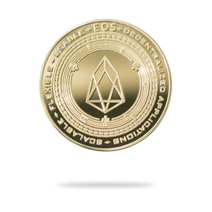 Cryptochips | EOS Physical Crypto Coin | Collectable Crypto You Can HODL